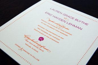 Invitations for your Wedding