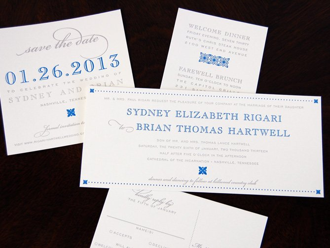 The New Look of Wedding Invitations