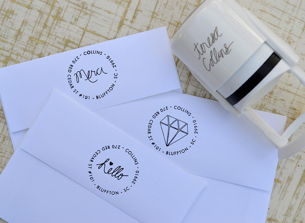 Stamps! for your wedding, business, or personal