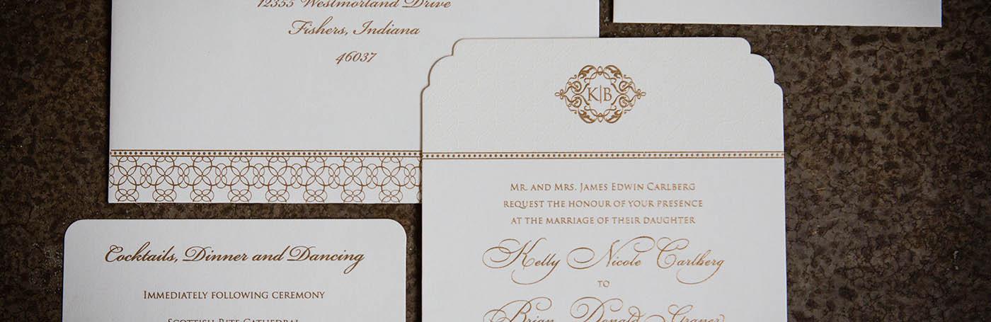 Wedding Invitations Carmel Indiana